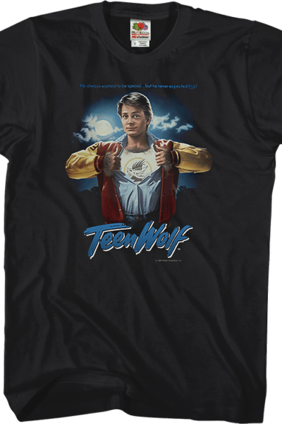 Movie Poster Teen Wolf T-Shirt