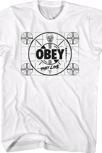 Obey Signal They Live T-Shirt