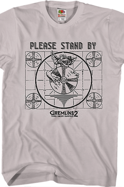 Please Stand By Gremlins 2 The New Batch T-Shirt