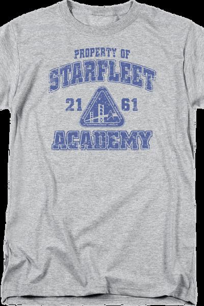 Property Of Starfleet Academy Star Trek T-Shirt