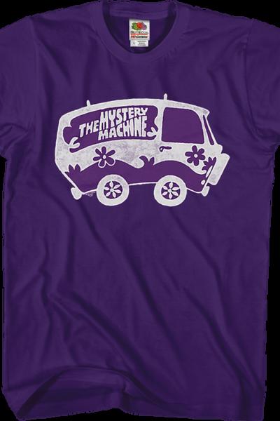 Purple Mystery Machine Scooby-Doo T-Shirt