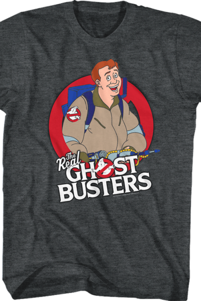 Ray Stantz Real Ghostbusters T-Shirt