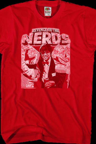 Red Wormser Revenge of the Nerds T-Shirt