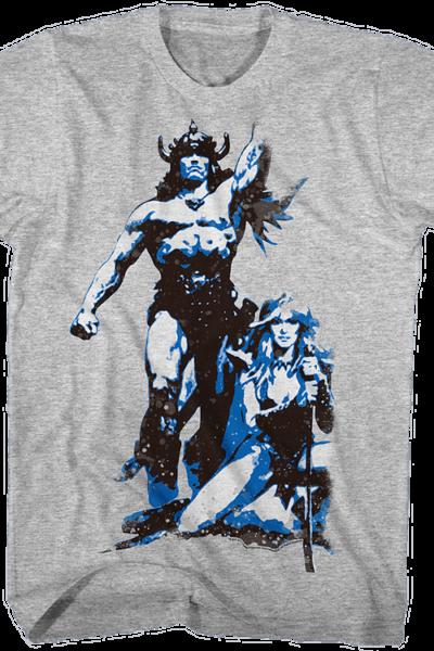 Retro Conan The Barbarian T-Shirt
