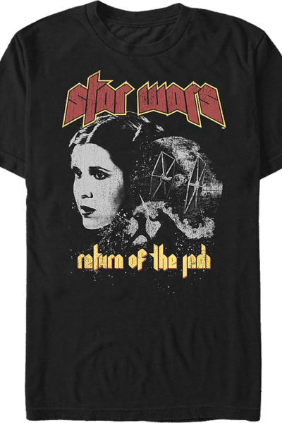 Return Of The Jedi Black And White Collage Star Wars T-Shirt