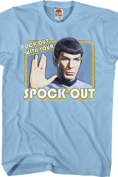 Rock Out With Your Spock Out Star Trek T-Shirt