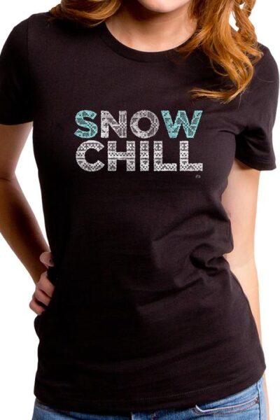 SNOW CHILL WOMEN'S T-SHIRT