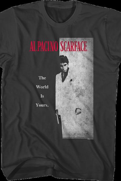 Scarface Movie Poster Smoke T-Shirt