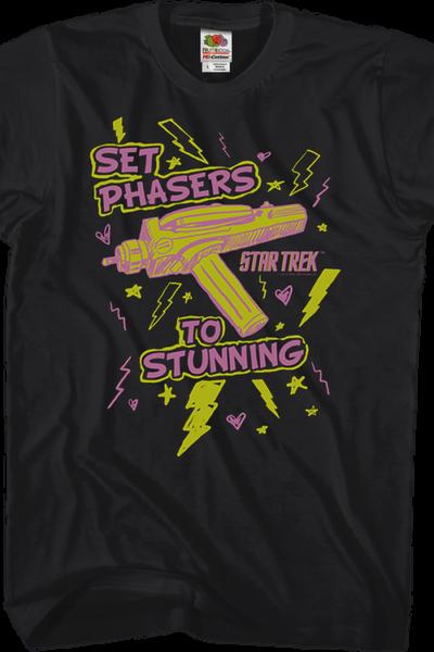 Set Phasers To Stunning Star Trek T-Shirt