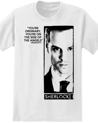 Sherlock Holmes Moriarty Angel's Quote T-Shirt