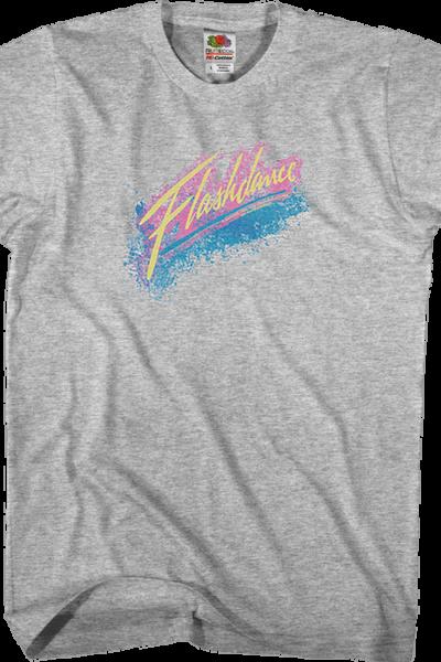 Spray Paint Flashdance T-Shirt