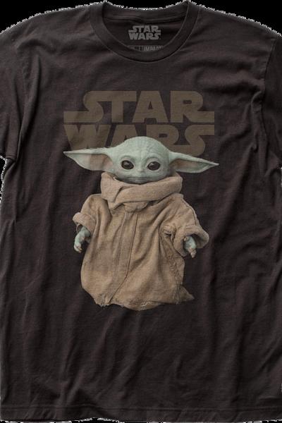 Standing Child The Mandalorian Star Wars T-Shirt