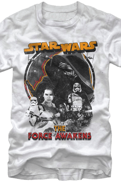The Force Awakens Collage Star Wars T-Shirt