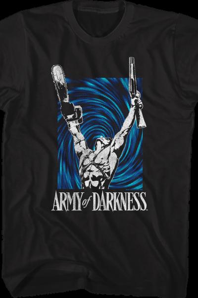 Time Vortex Army Of Darkness T-Shirt