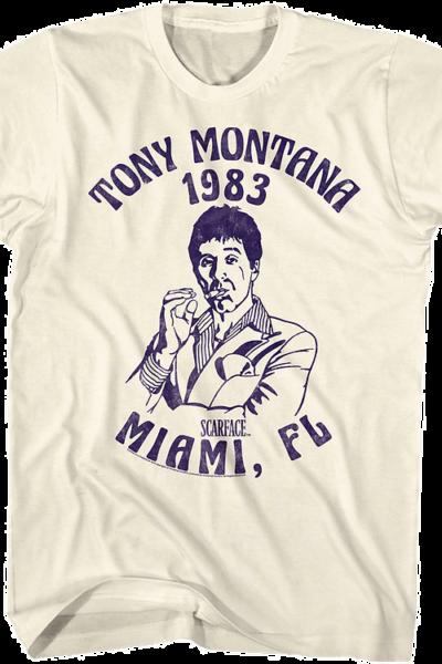 Tony Montana 1983 Scarface T-Shirt