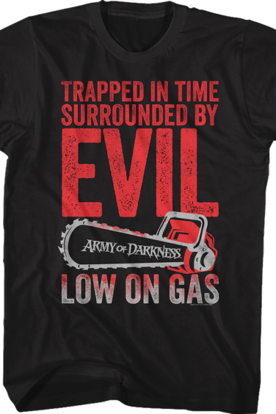Trapped in Time Army of Darkness T-Shirt