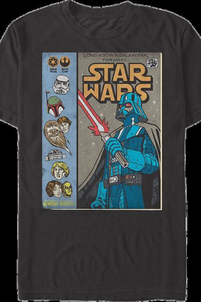 Vintage Comic Book Star Wars T-Shirt
