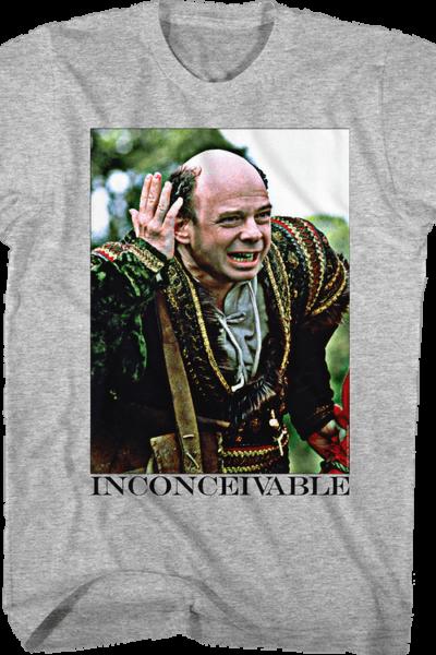 Vizzini Inconceivable Princess Bride T-Shirt