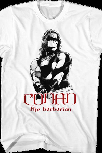 War Paint Conan The Barbarian T-Shirt