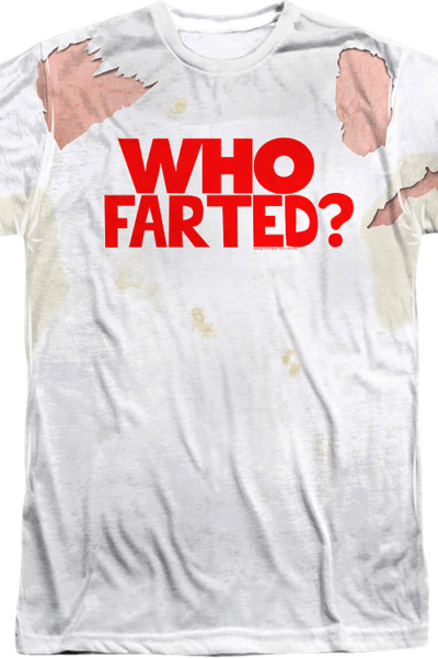 Who Farted Revenge of the Nerds Shirt