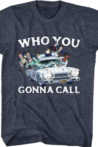 Who You Gonna Call Real Ghostbusters Cast T-Shirt