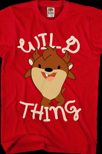Wild Thing Baby Taz Looney Tunes T-Shirt