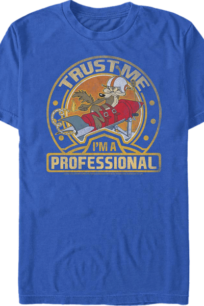 Wile E. Coyote Trust Me I'm A Professional Looney Tunes T-Shirt