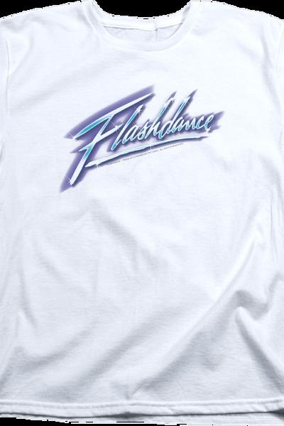 Womens Airbrush Flashdance Shirt