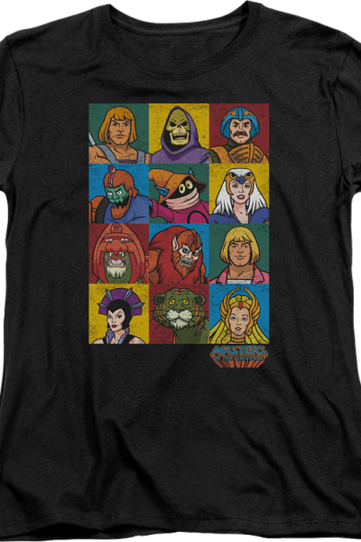 Womens Masters Of The Universe Characters Shirt