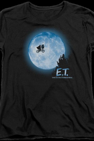 Womens Moon ET Shirt