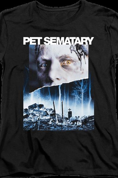 Womens Movie Poster Pet Sematary Shirt
