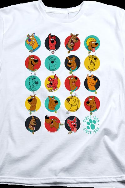 Womens Pop Art Scooby-Doo Shirt