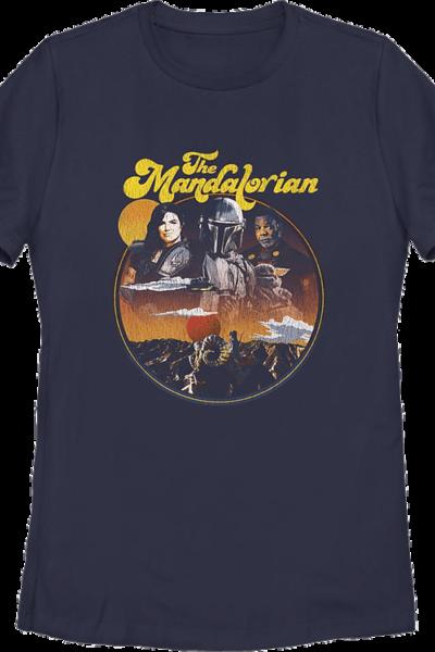 Womens Razor Crest Crew The Mandalorian Star Wars Shirt