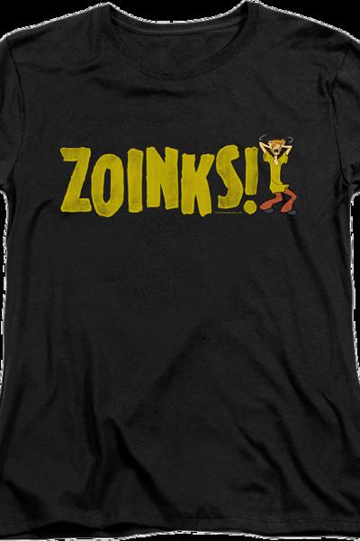 Womens Shaggy Zoinks Scooby-Doo Shirt