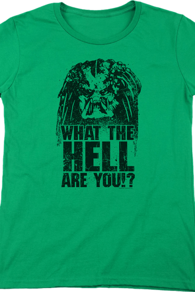 Womens What The Hell Are You Predator Shirt