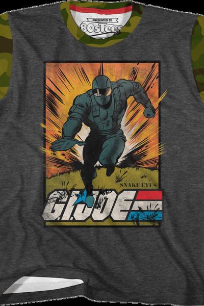 Youth Snake Eyes Escape GI Joe Shirt