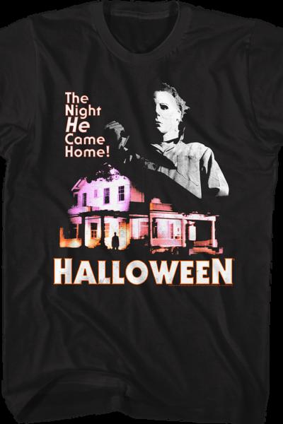 Michael Myers Came Home Halloween