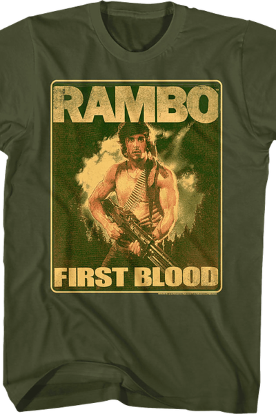 Movie Poster First Blood Rambo