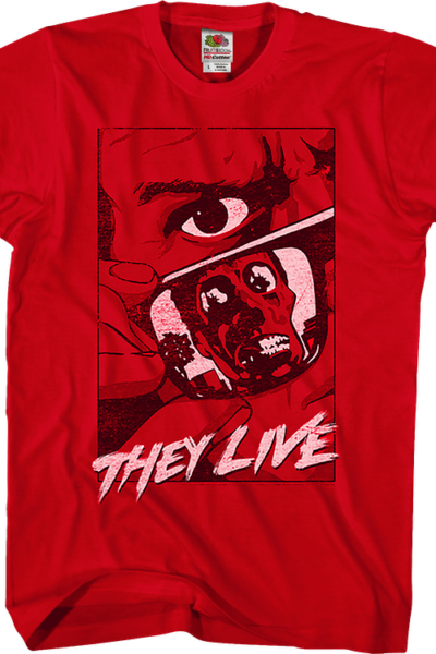 Graphic Poster They Live T-Shirt