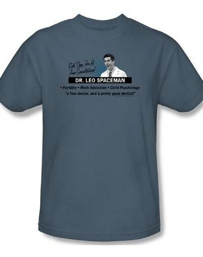 30 Rock Dr. Leo Spaceman Consultation T-Shirt