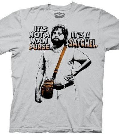 Alan Not A Man Purse It's A Satchel T-shirt