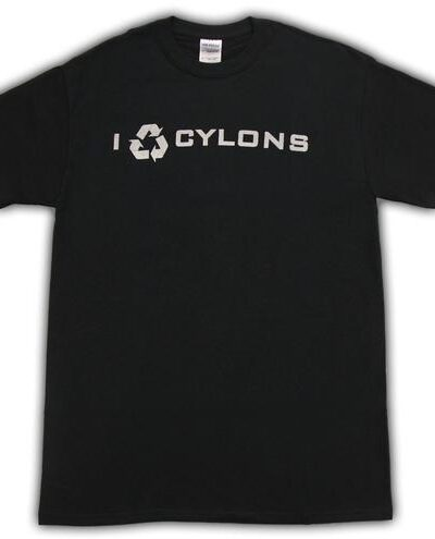 Battlestar Galactica I Recycle Cyclons T-shirt