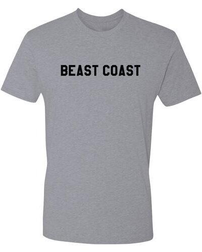 Beast Coast Heather Grey T-shirt