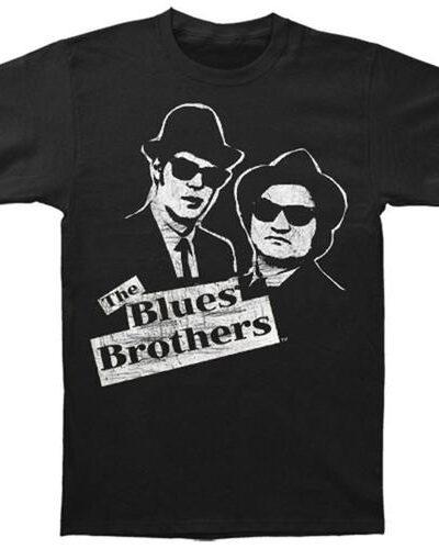 Black and White Jake & Elwood T-Shirt