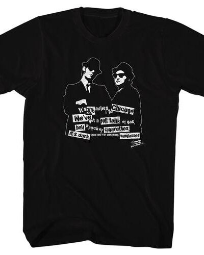 Blues Brothers 106 Miles to Chicago T-shirt