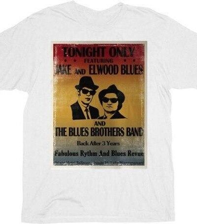 Blues Brothers Tonight Only Distressed Poster T-Shirt