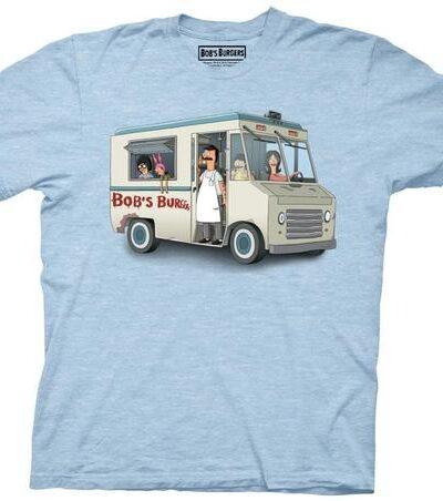 Bob's Burgers Family Burger Truck T-Shirt