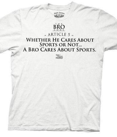 Bro Code Article 5 Sports T-shirt