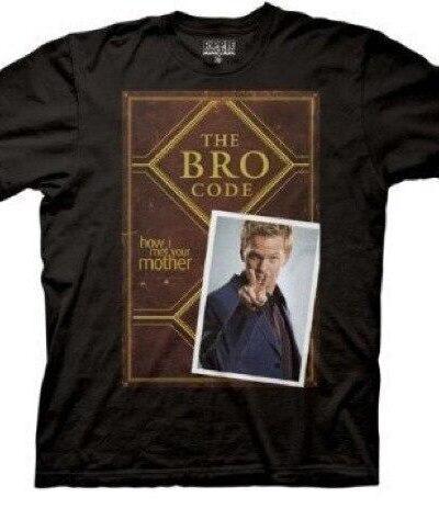 Bro Code Book Cover T-shirt