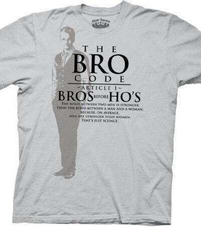 Bro Code Bro's Before Ho's T-shirt